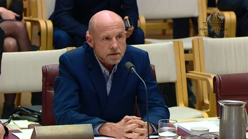 Former Retail Food Group CEO Tony Alford has faced a grilling in a parliamentary inquiry.