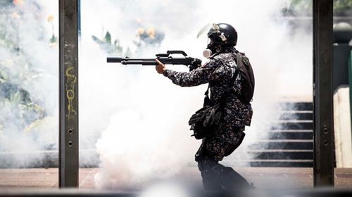 Solider have used deadly force to try and stop protesters. (AFP)