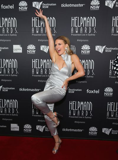Kirby Burgess at the Helpmann Awards 2017, Capitol Theatre, Sydney.