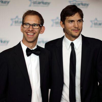 Michael and Ashton Kutcher