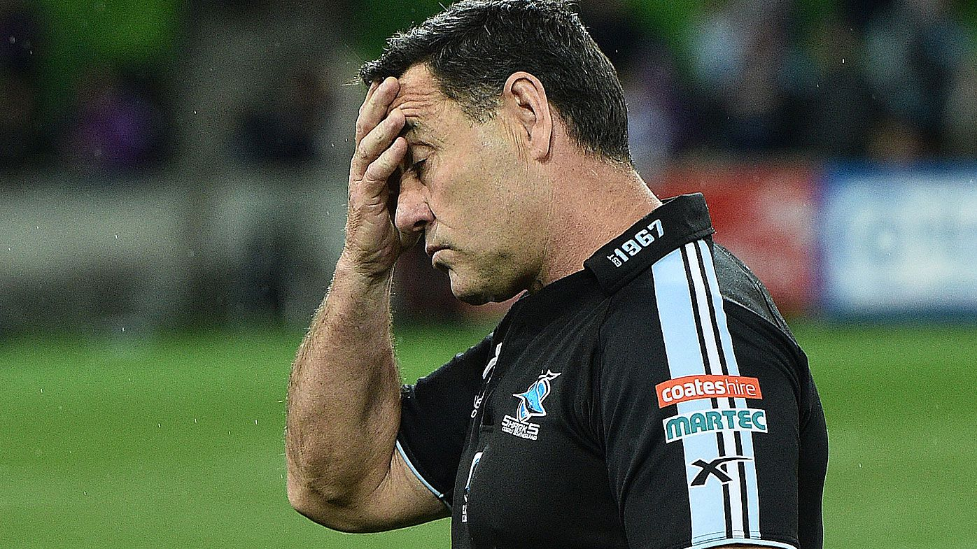 Cronulla Sharks to interview coach candidates after Shane Flanagan's exit