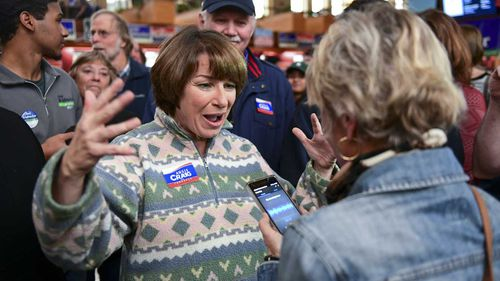 Minnesota Senator Amy Klobuchar is a potential challenger to Donald Trump in 2020.