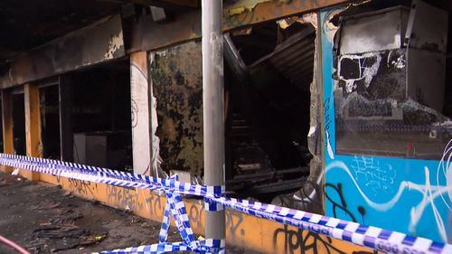 Police are now investigating the fire. (9NEWS)
