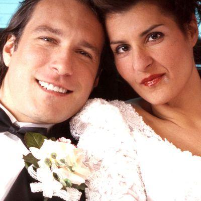 Nia Vardalos and John Corbett: Then...