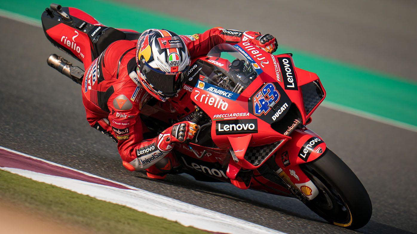 Aussie rider Jack Miller survives 'scariest moment I've ever seen' at MotoGP Doha