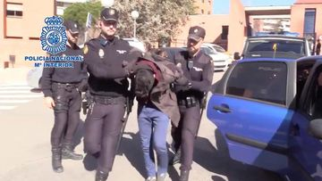 Spain's national police arrested Alberto Sanchez Gomez in February 2019.