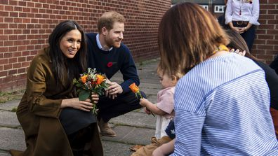 The Duke and Duchess of Sussex surprised their neighbours in Windsor at a coffee morning for military families 7