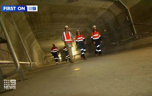 Inside the tunnels hidden in Brisbane's Gateway Bridge