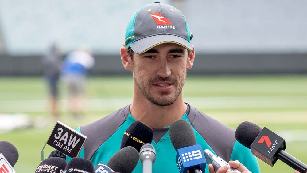 Sidelined Mitchell Starc and David Warner hammer Poms