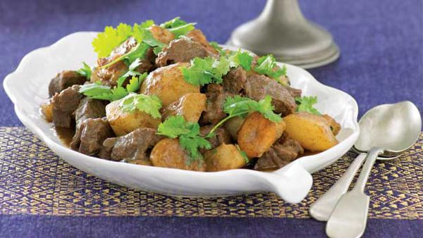 Pear and lamb tangine