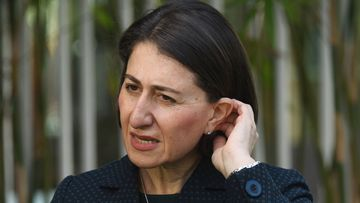 NSW Premier Gladys Berejiklian today.