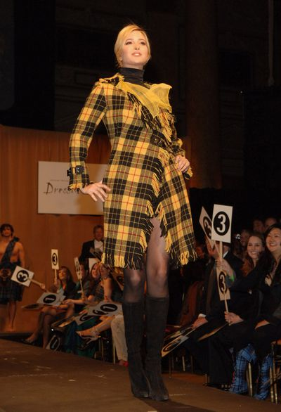 Ivanka Trump during Johnnie Walker 'Dressed To Kilt' 2007 at Capitale in New York.