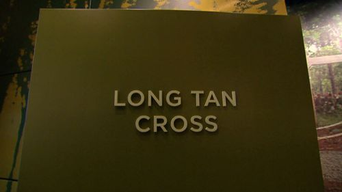The Long Tan Cross itself was made by a New Zealander and erected in battlefield in 1969. But it was left behind.