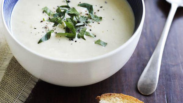 Brigitte Hafner: Creamy salt cod and potato soup