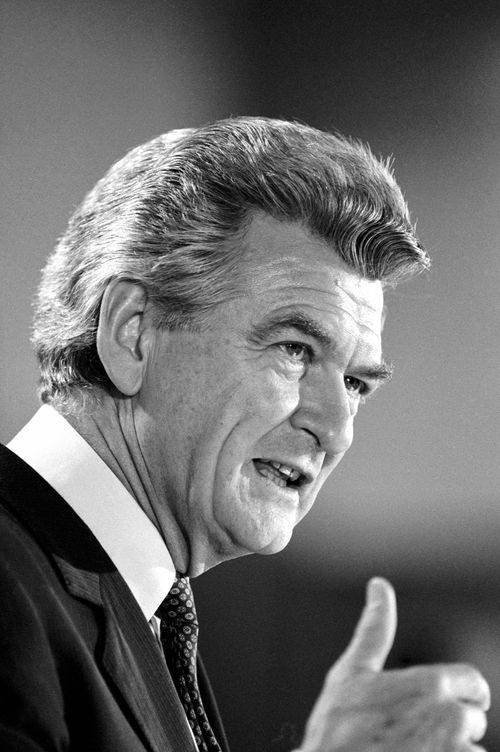 Bob Hawke was first elected Prime Minister in 1983. (AAP)