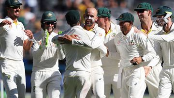 Lyon achieves something even Warnie couldn't in Aussie Test win