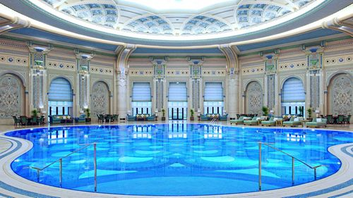 A pool in the Ritz-Carlton in Riyadh. (Ritz-Carlton)