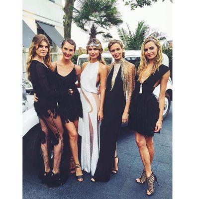 <p>Maryna Linchuk, Margarita Lieva, Natasha Poly,&nbsp;Katsia Domankova and&nbsp;Valentina Zelyaeva.</p>