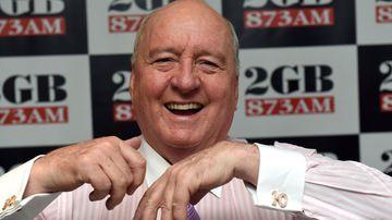 Talkback radio show host Alan Jones remains in hospital after health setback.