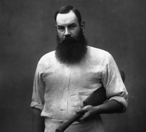 "William Gilbert ""W. G."" Grace - widely considered one of cricket's greatest players. (Herbert Barraud, Rischgitz, Getty Images)"