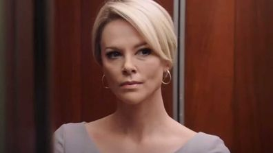 Charlize Theron as Megyn Kelly.