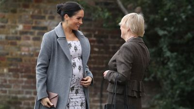 Meghan visits Brinsworth House, December 2018