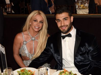 Britney Spears, transformation, photos, Sam Asghari, GLAAD Media Awards, April 12, 2018 in Beverly Hills, California.