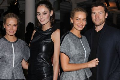 "Nic will star as Sam Worthington's wife in upcoming film <i>Paper Planes</i>. Ooh we wonder what BFF Lara Bingle has to say about her hanging out with her man!<br/><br/>She also made a cameo as a ""brunette bikini babe"" in Sofia Coppola's 2010 film <i>Somewhere</i> and studied acting at renowned Sydney acting school NIDA.<br/><br/>(Images: (Left) Lara and Nic, (Right) Lara and Sam. Source: Getty)"