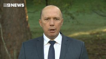9RAW: Peter Dutton gives 'fake refugees' October 1 deadline