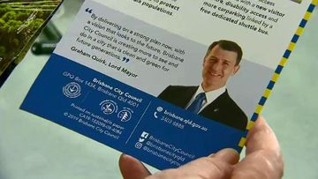 Brisbane council flyer 'waste of taxpayer money'