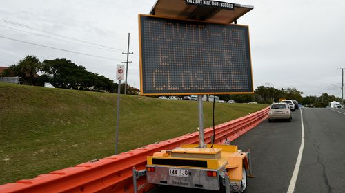 Barricades have been installed along some of Coolangatta's streets to help stop people crossing the Queensland-NSW border without going through the appropriate checks.