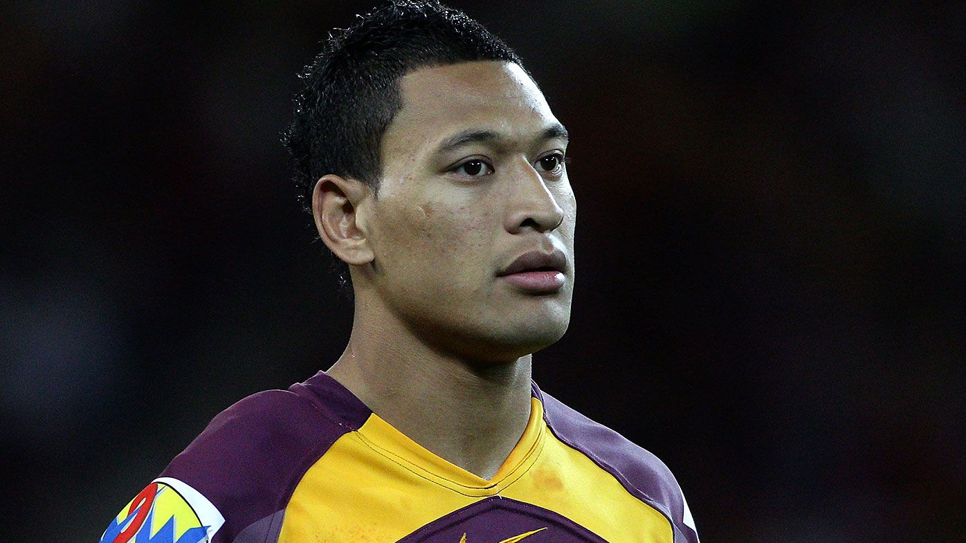 Brisbane Broncos deny reported meeting with exiled Wallabies star Israel Folau