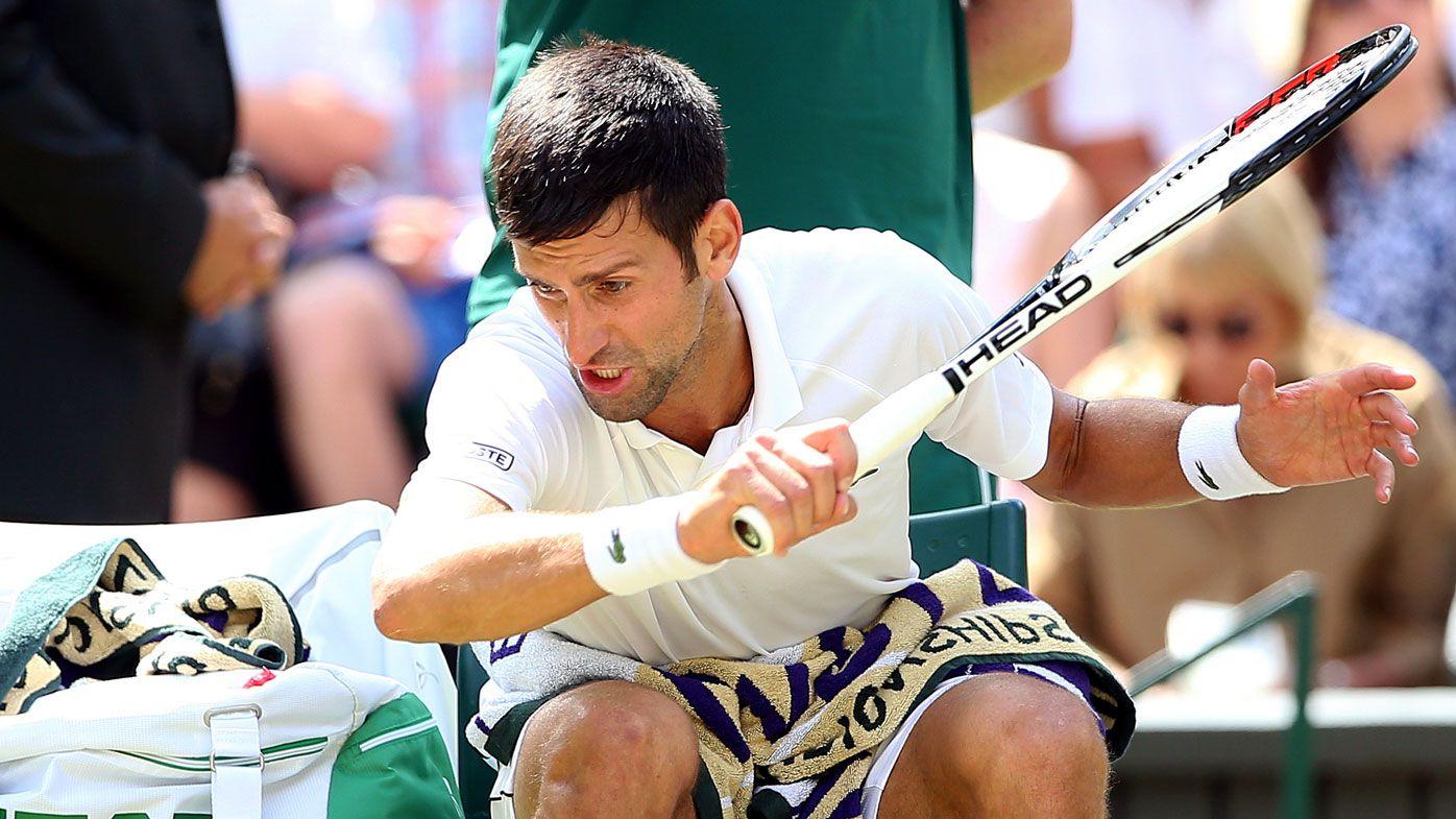 Novak Djokovic roars into Wimbledon semi-finals after accusing umpire of 'double standards'