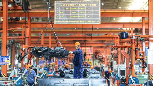 China's manufacturing economy has exploded in Xi Jinping's time in office.