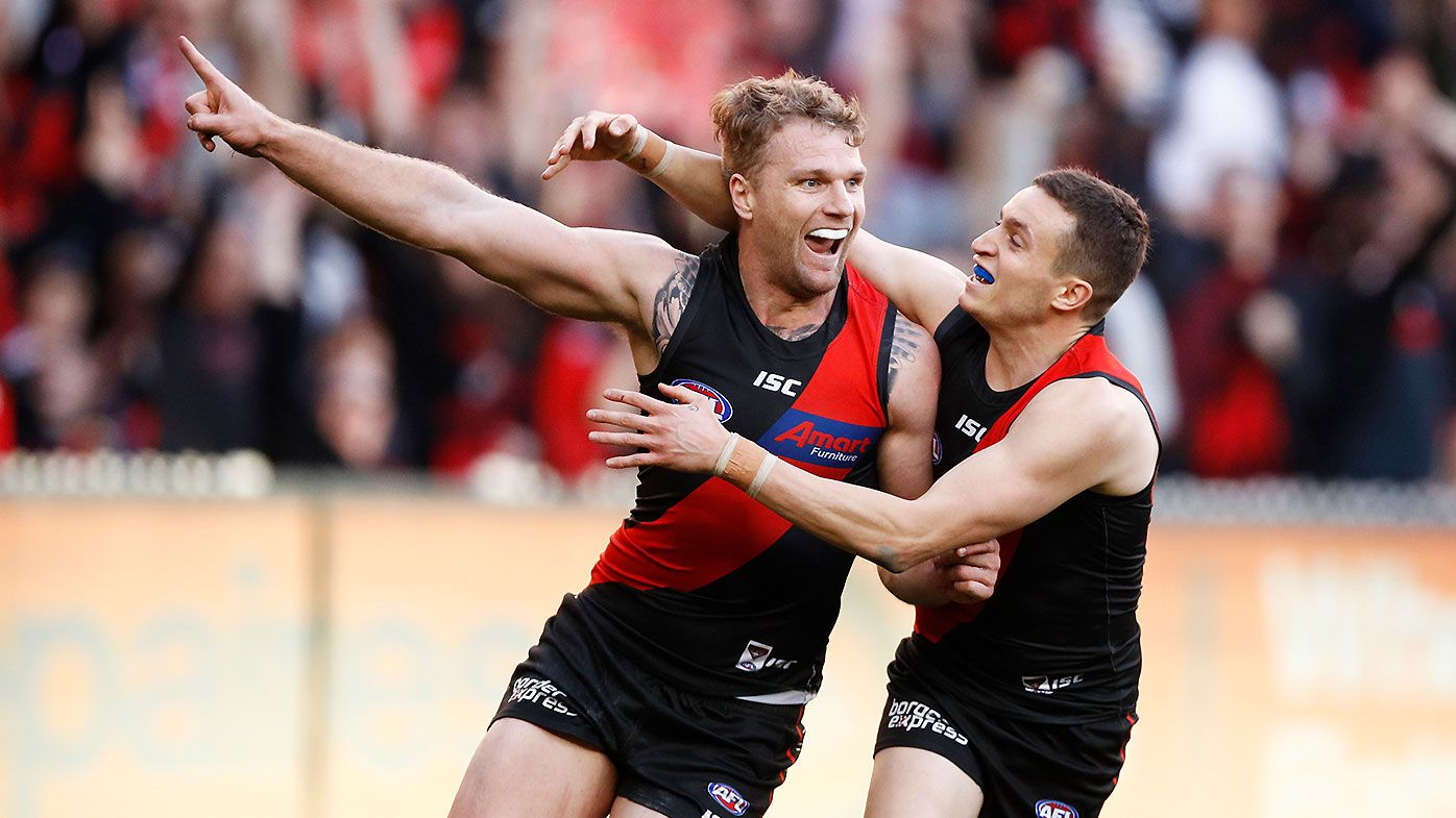 Essendon overcome late Dyson Heppell blow to overcome plucky Swans