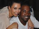 Kanye West, Kim Kardashian, Instagram photo