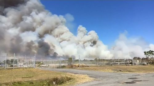 Fire authorities have urged residents to enact their bushfire survival plans.