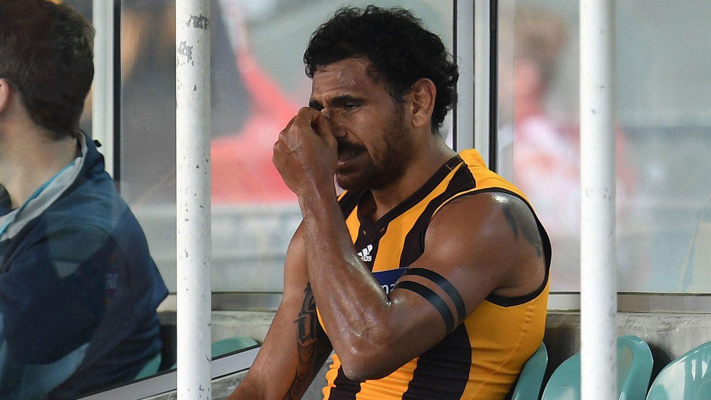 AFL Hawthorn Hawks star Cyril Rioli rocked by Dad's heart scare