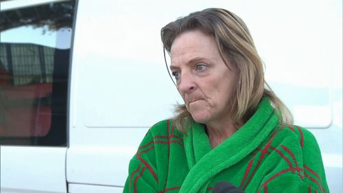 A neighbour told 9NEWS she travelled with the victim's mother in an ambulance to hospital.