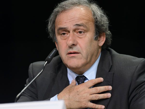 UEFA president and FIFA presidential candidate Michel Platini. (AFP)