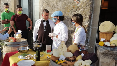 Castiglione di Sicilia is known for its fabulous food and drink.