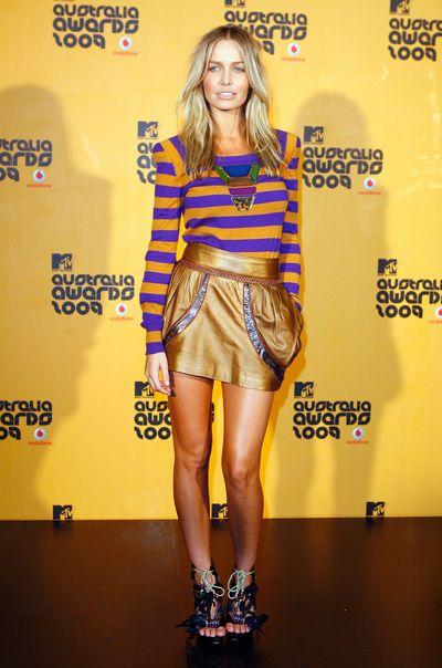Lara Bingle at the MTV Australia Awards in Sydney, March, 2009
