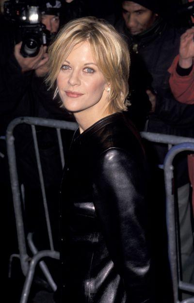 Meg Ryan at the premiere of <em>You've Got Mail</em> in 1998.