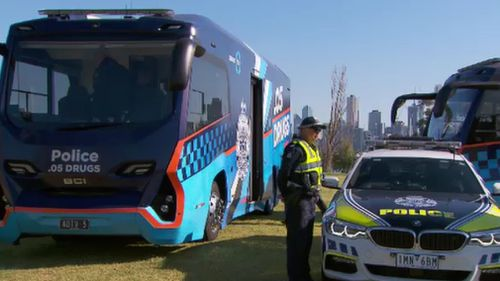 Drug and booze buses will be out in force this long weekend.