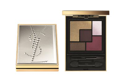 "<a href=""http://mecca.com.au/yves-saint-laurent/couture-palette-collector-fall-15/I-022405.html"" target=""_blank"">Couture Palette Collector Fall 15, $98, YSL.</a>"