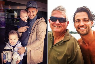 Aussie celebs have worn their hearts on their sleeves for Father's Day, sharing a mix of adorable childhood flashbacks and photos with their fathers on this special day.<br/><br/>TheFIX has compiled the best shots right here. Pat on the back to all the awesome dads out there!<br/><br/>Images: Instagram/Jules Sebastian/Tim Robards