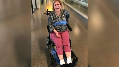 Woman with MS claims she was tied to wheelchair with blanket by US airline