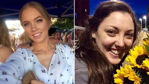 Brisbane nanny Sara Zelenak, 21, and Loxton, South Australia, nurse Kirsty Boden, 28, died in the attack.