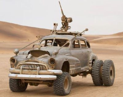 Buick: Heavy artillery with Hummer weapon mount