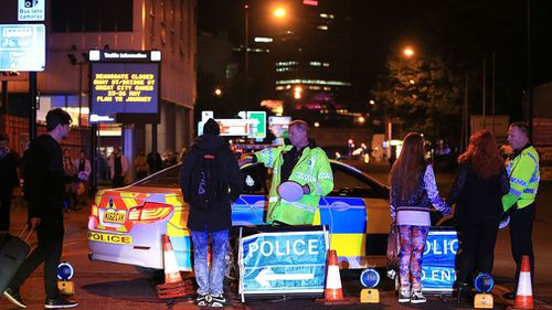 A report found firefighters were not allowed to go to the scene of the Manchester Arena bombing for more than two hours. (AAP)